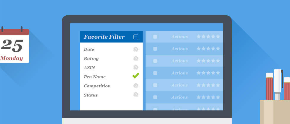 powerful filter for you to manage your product reviews-BQool
